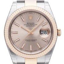Rolex Datejust 41 Edelstahl Everose-Gold 126331 Sundust Oyster