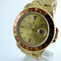 Rolex GMT Master  II    Gold  - Sultan Dial  -