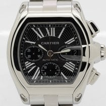 Cartier Roadster Chronograph XL - with extra straps