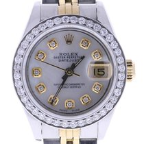 Rolex Datejust 69173 26 Millimeters Mother-of-pearl Dial...
