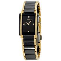 Rado Integral Quartz Black Dial Diamond Ladies Watch R20845712