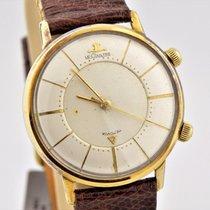 積家 (Jaeger-LeCoultre) Vintage 1960s Memovox Alarm 10k Gold...