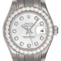 롤렉스 (Rolex) Ladies Pearlmaster 18k White Gold Watch 80299...