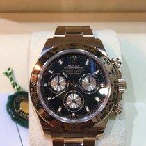 Rolex 18K Everose Pink Gold Cosmograph Daytona Black Dial [NEW]