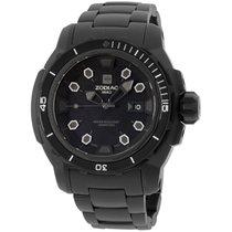Zodiac Zmx6 Black Dial Stainless Steel Men's Watch Zo8600