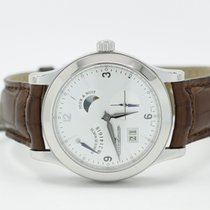 Jaeger-LeCoultre Master Control Stainless Steel 8 Day With Day...