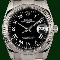 Ρολεξ (Rolex) Oyster Perpetual 115234 Date White Gold Bezel...