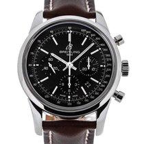Breitling Transocean 43 Chronograph Cal. B01 Black Dial