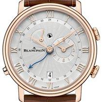 Blancpain Villeret Reveil GMT 6640-3642-55b