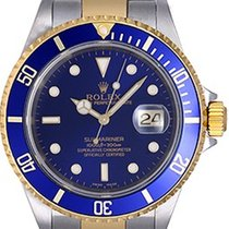 Rolex Submariner 2-Tone Steel & Gold Men's Watch Gold...