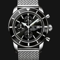 Breitling SuperOcean Heritage 46 mm Automatic Black Dial
