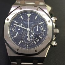 Audemars Piguet ROYAL OAK CHRONO ACCIAIO BLUE DIAL ONLY FOR...