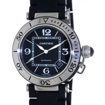 Cartier Pasha Seatimer 2790 Stainless Steel Black Rubber, 40mm