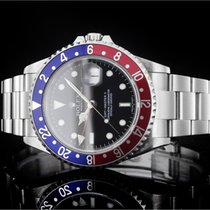 Rolex GMT-Master II (40mm) Ref.: 16710BLRO Stick Dial mit Box...