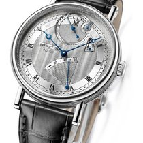 Breguet 7727BB/12/9WU Classique 7727 in White Gold - on Black...