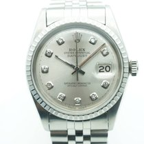 Rolex Datejust 36mm Vintage Stainless Steel Diamonds Dial (1963)