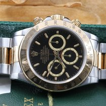 Rolex Daytona 16523 Zenith Seriale E Inverted 6 B&P