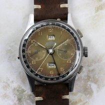 Angelus Vintage Tropical Two-Tone Chronodato Chronograph