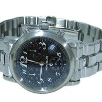 Montblanc Meisterstuck Star Chronograph Carbon Mens Watch