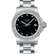 Longines Conquest Quartz Diamond Markers Ladies Watch