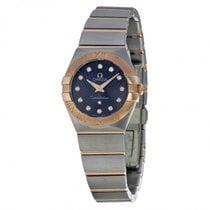 Omega Ladies 12320246053001 Constellation Brushed Watch