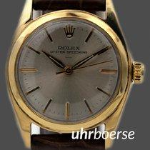 Rolex Oyster Speedking in vergoldetem Stahl Ref.6421 Handaufzug