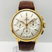 Omega Chronograph Vintage Pink Gold,Manual Winding, Box &...