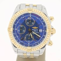 百年靈 (Breitling) Chronomat Evolution Steel/RoseGold BLUEDial...