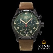 Alpina Startimer Pilot Big Date Chronograph Military Watch