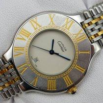 Cartier Montre 21 Quarz - Stahl-Gold - Grande Taille - 34 mm