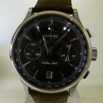 Eberhard & Co. MODERN 2002 chrono extra-fort date silver...