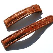 Breitling Tradema Croco Armband Band Strap 15/14mm 75/110...