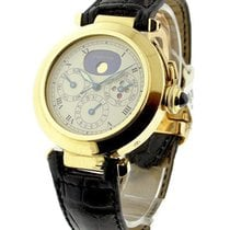 Cartier W3000351 38mm Pasha 3 Perpetual Calendar - Yellow Gold...