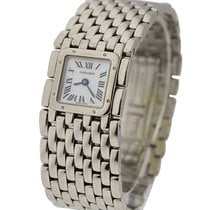 Cartier W61001T9 Panthere Ruban Ladies Size - Steel on...