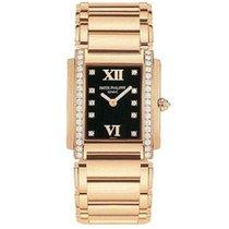 Patek Philippe Twenty-4 Ladies Rose Gold & Diamond Watch 4910