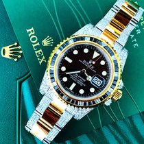 勞力士 (Rolex) Submariner Date custom diamond bezel & bracelet