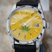 Rolex Oysterdate Precision 6694 Manual 34mm Swiss Watch 1962...