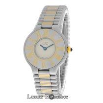 Cartier Ladies  Must de  Bullet Bracelet Quartz SteeSteel Gold...