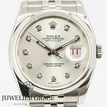 Rolex Datejust Diamonds Aftermarket Box/Papers 2006