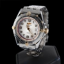 Breitling wings steel quartz lady