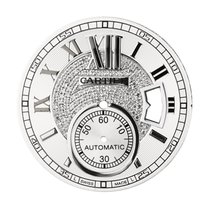 Cartier Calibre de Cartier Diamond Pavé Custom Dial
