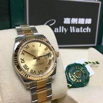 Rolex Cally - 178273 Datejust 31MM Champ Roman Dial Oys Brac...
