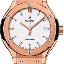 Hublot Classic Fusion 33mm King Gold Opalin Automatic Watch