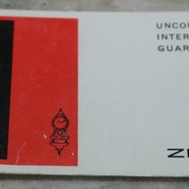 Zenith rare vintage warranty booklet papers for primero gold...