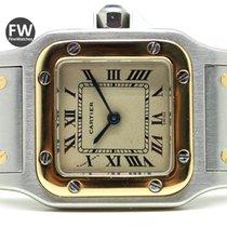 Cartier Santos Galbee Steel & Gold