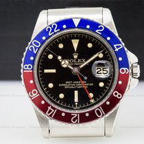 Rolex 1675 Vintage GMT Master Gilt Chapter Ring Exclimation...