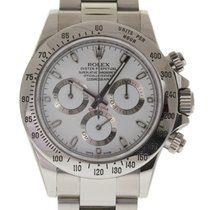 Rolex Daytona 116520 40mm Steel White 2016 B&P/Warranty...