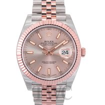 롤렉스 (Rolex) Datejust 41 Sundust/Rose gold Jubilee 41mm - 126331