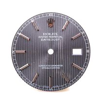 Rolex SS  Mens Datejust - Slate Tapestry Dial - 16014/16234/11...