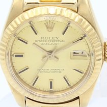 Rolex Oyster Perpetual Datejust Automatic Gold Lady 6917